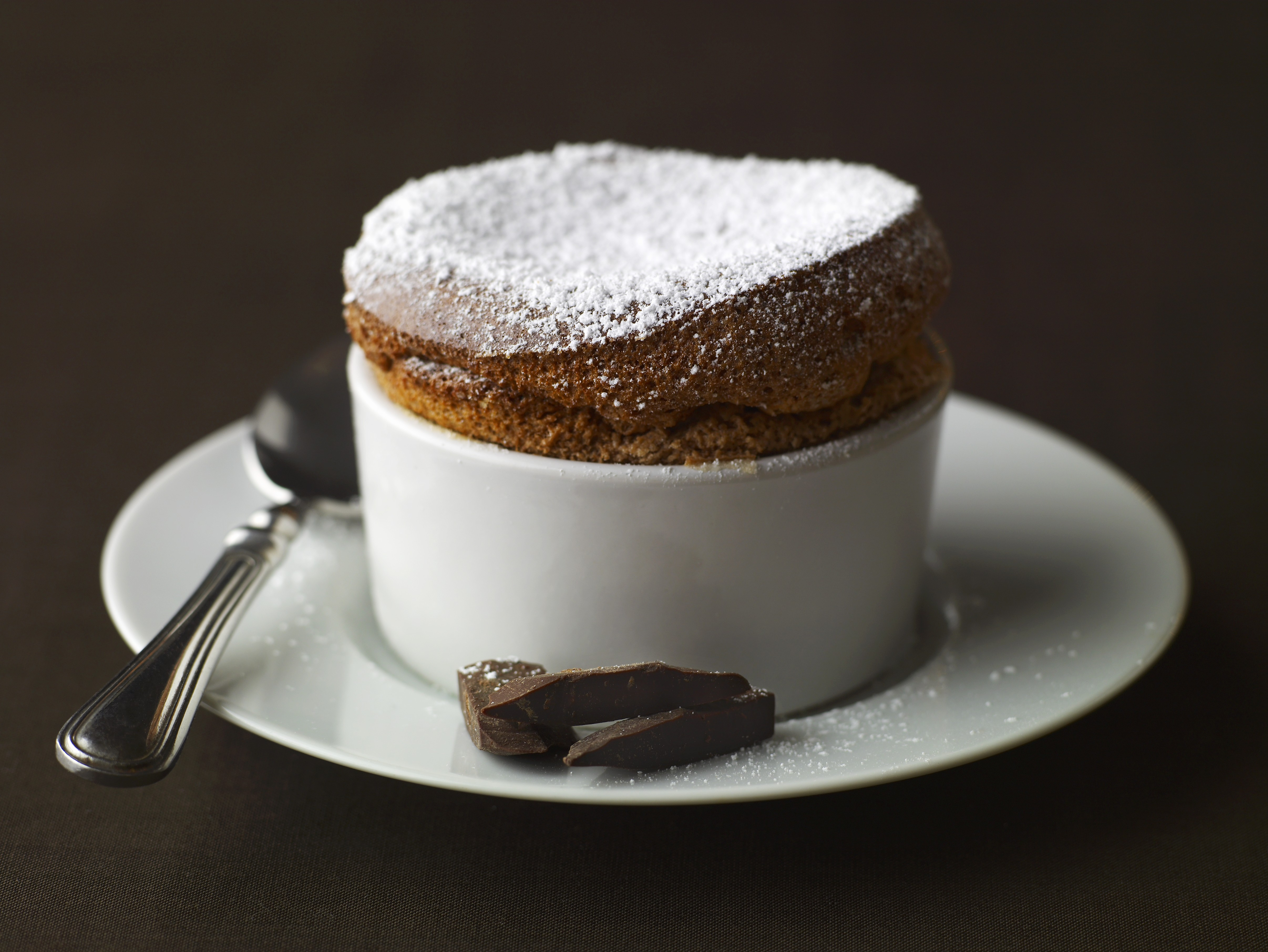 Chocol souffle for Canape plate definition
