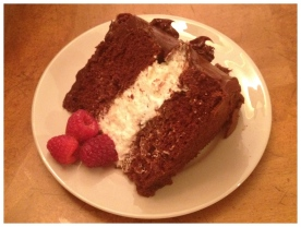 Cake w/Ganache Icing