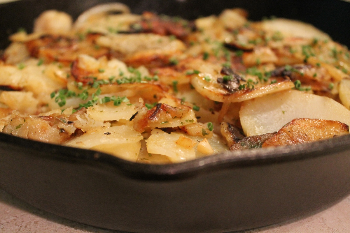 Lyonnaise Potatoes