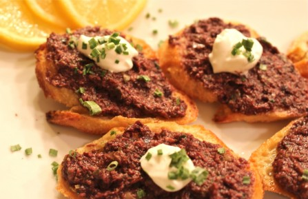 Olive Tapenade Canape