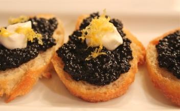 Caviar & Creme Fraiche