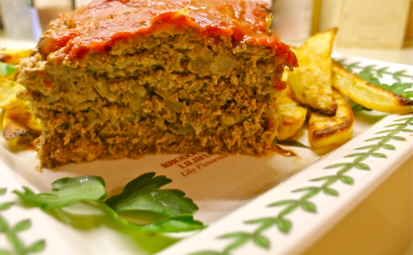 Meatloaf with onion