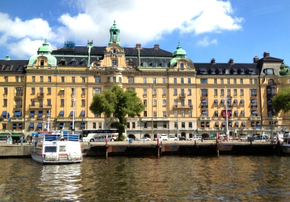 Stockholm - beautiful waterways, the Nobel Prize, lovely city!
