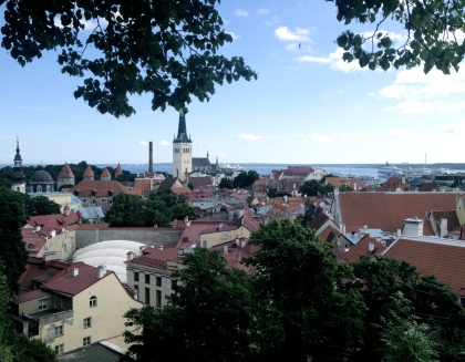 Lovely little city of Tallinn in Estonia - breath-takingly beautiful!