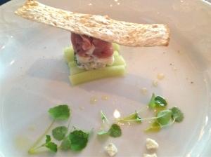 Tartar of Fresh Yellow Fin Tuna