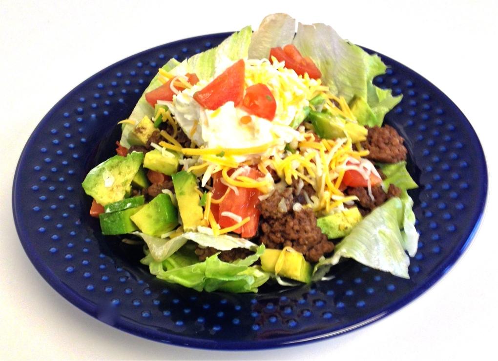 Lo Carb Taco Salad