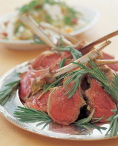 Ina Garten's Rack of Lamb