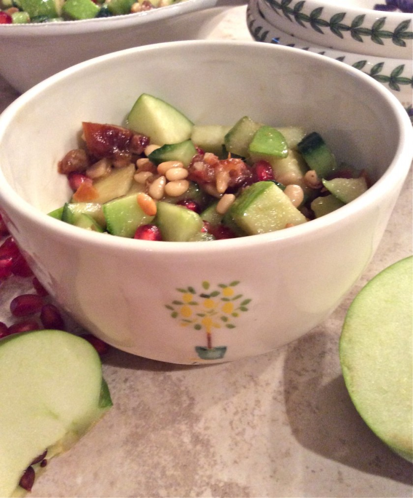 Apples and Dates Salad