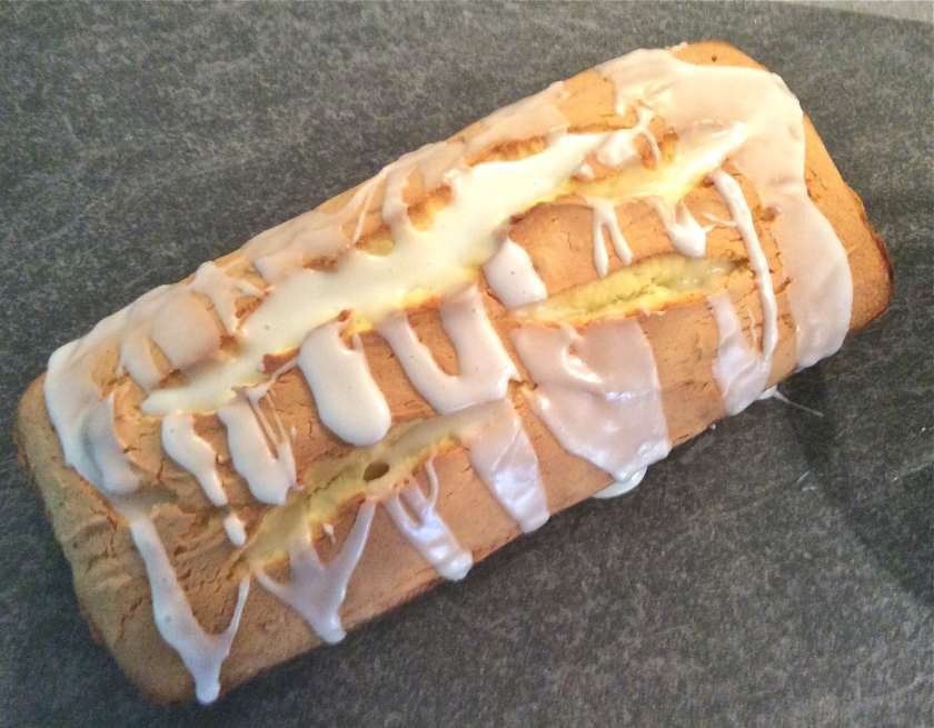 Lemon Loaf with Icing