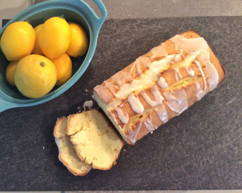 This lemon loaf slices beautifully - thick or thin.